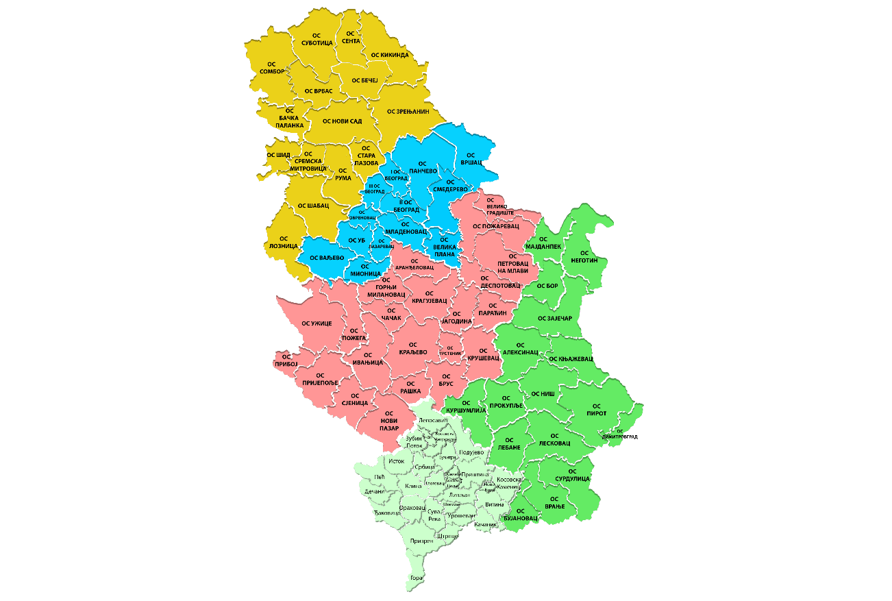 Pravosudna mapa
